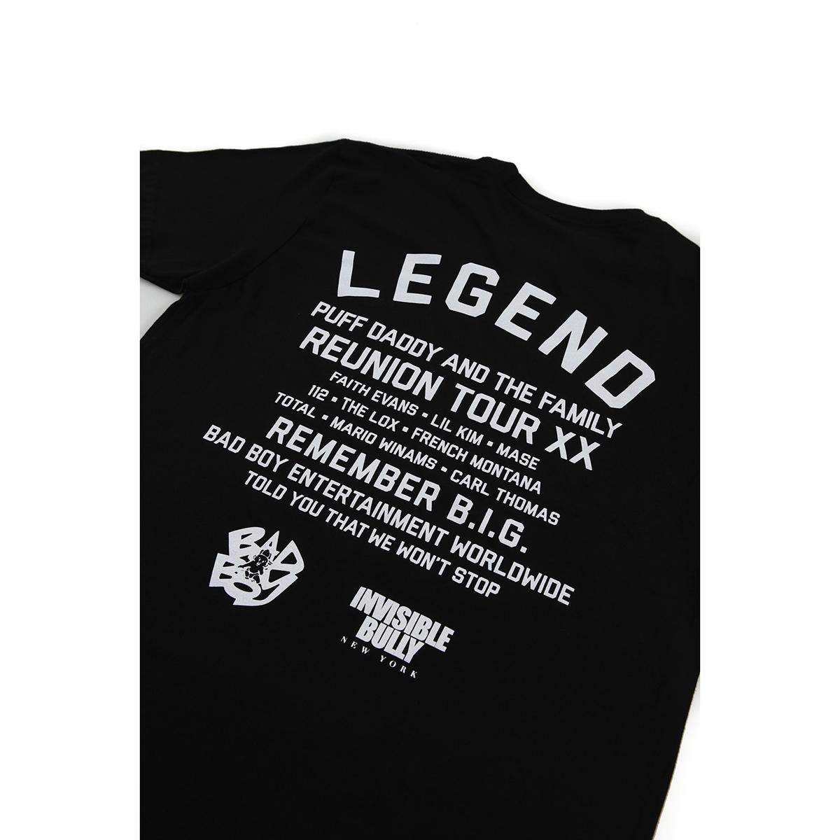 Bad Boy 20 Legend Tour T-Shirt
