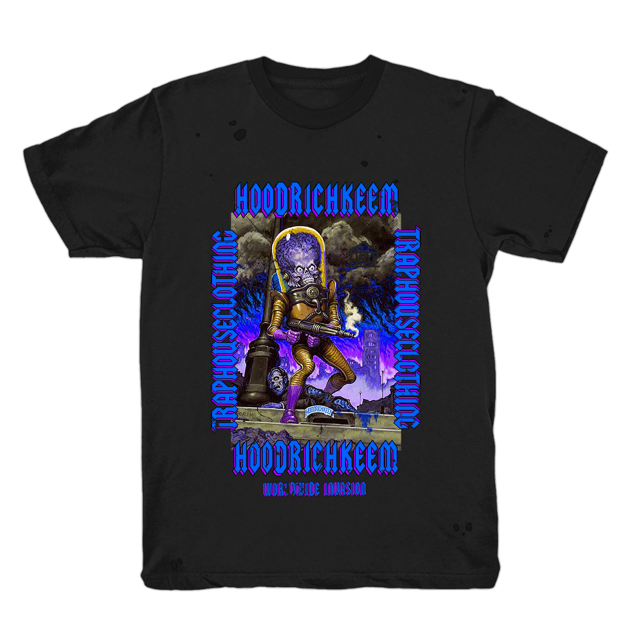 Worldwide Invasion III Distressed T-Shirt