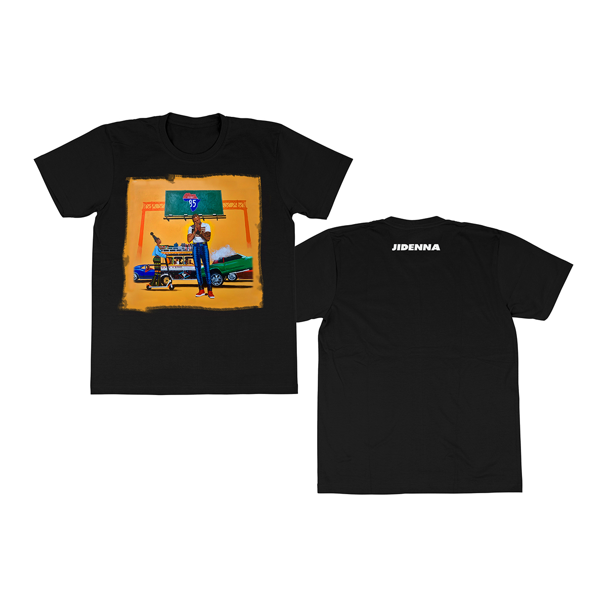 85 to Africa Album Cover T-Shirt + Digital Download