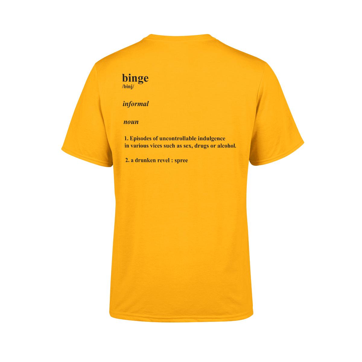 Tongue T-Shirt (Yellow)