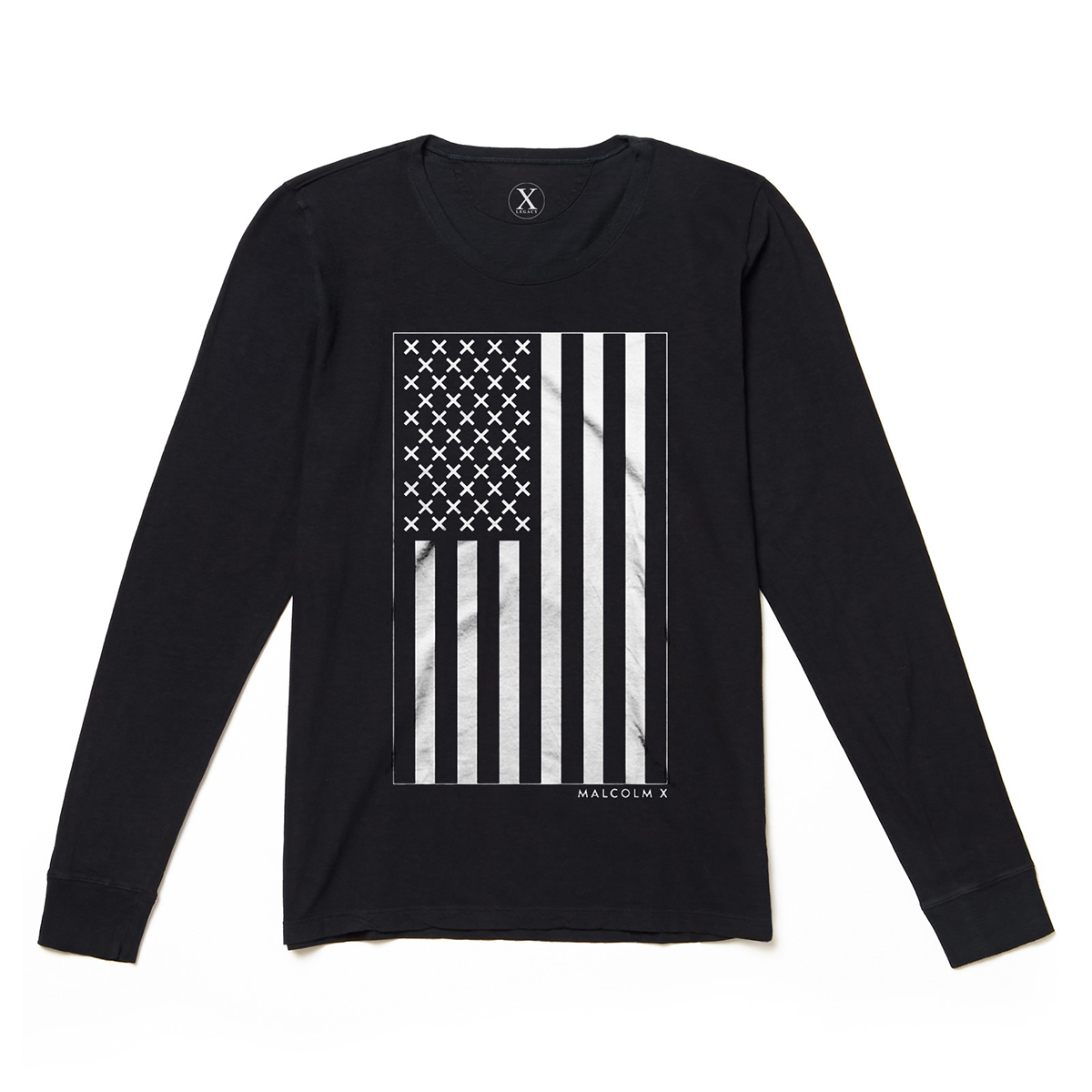 X Vertical Flag L/S Shirt