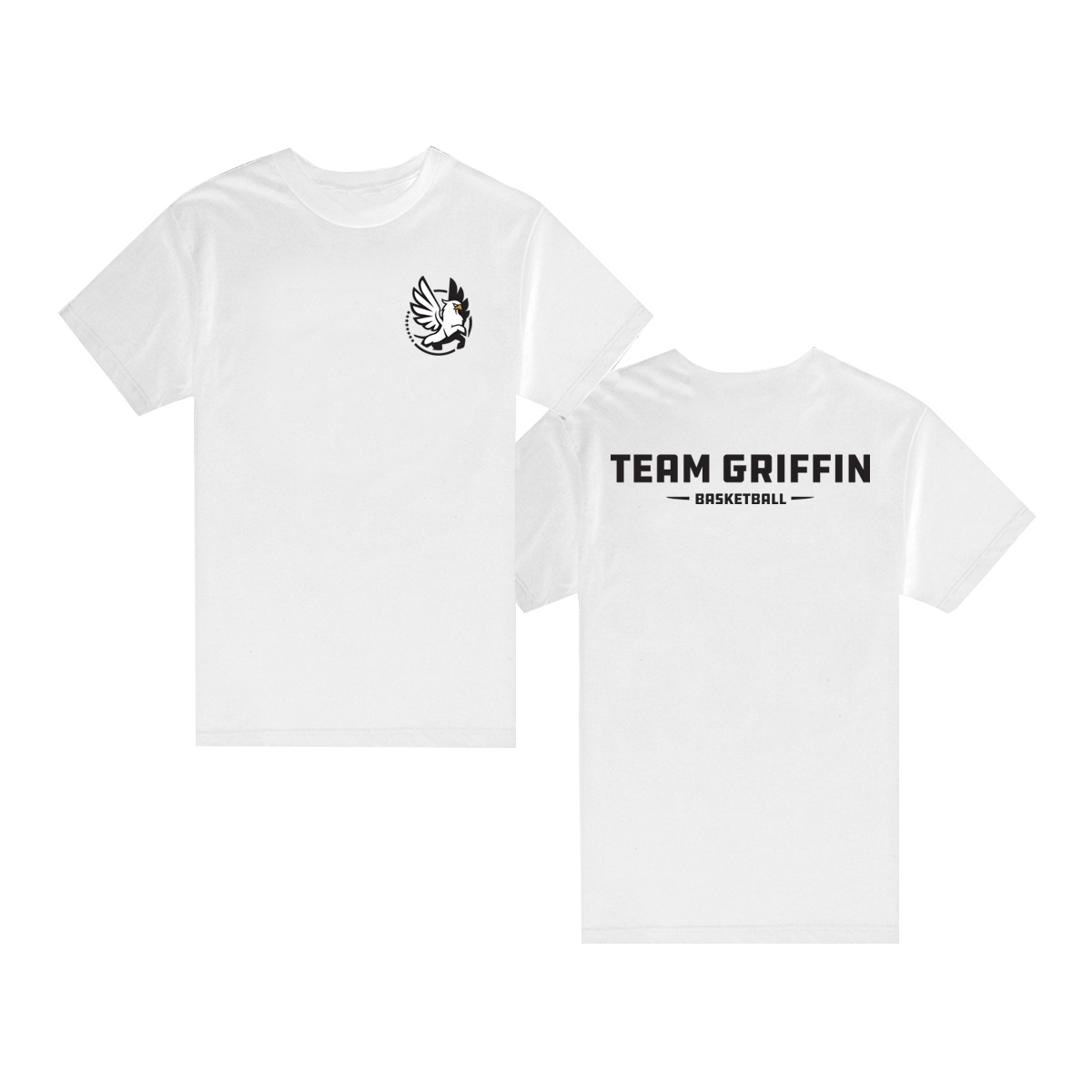 Team Griffin Short Sleeve Tee (White)