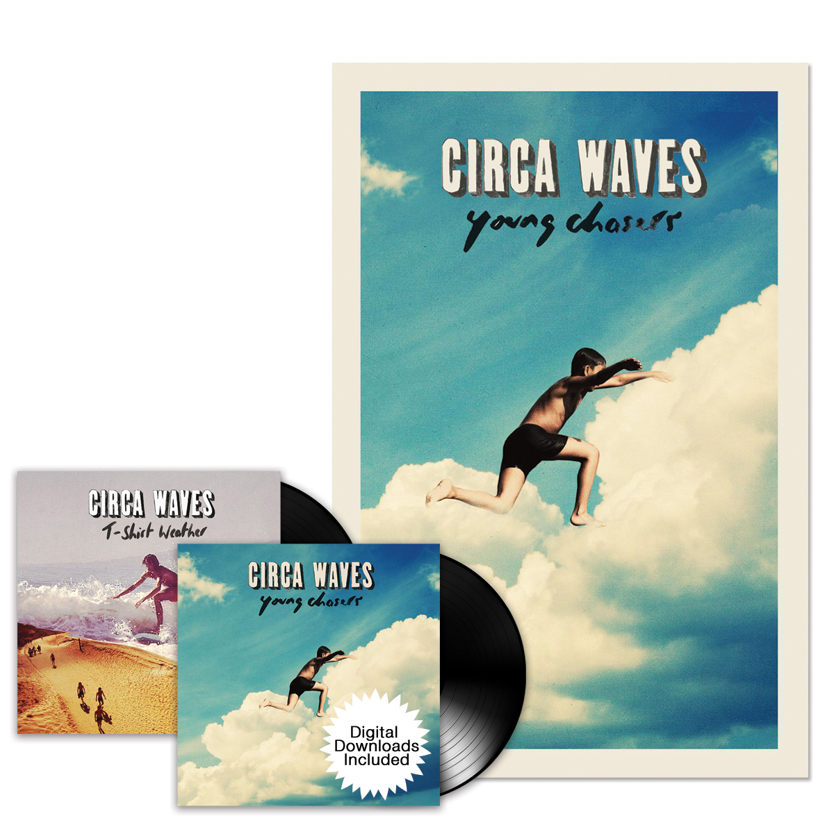 Circa Waves Deluxe AUTOGRAPHED Bundle