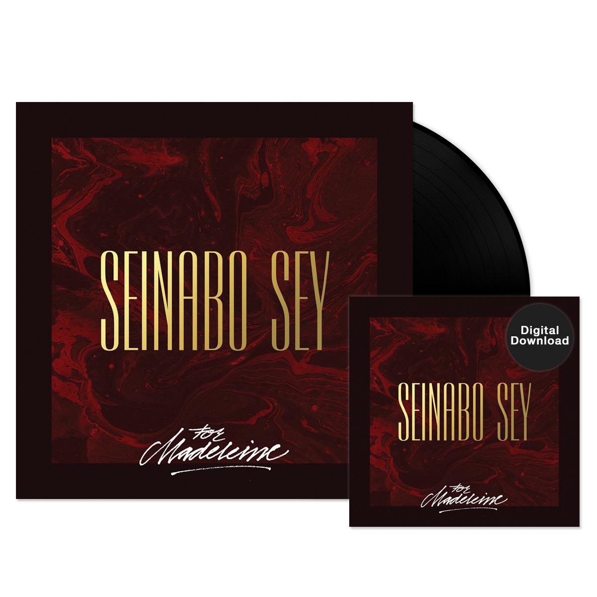 Seinabo Sey - For Madeleine EP Vinyl + Digital Download Bundle