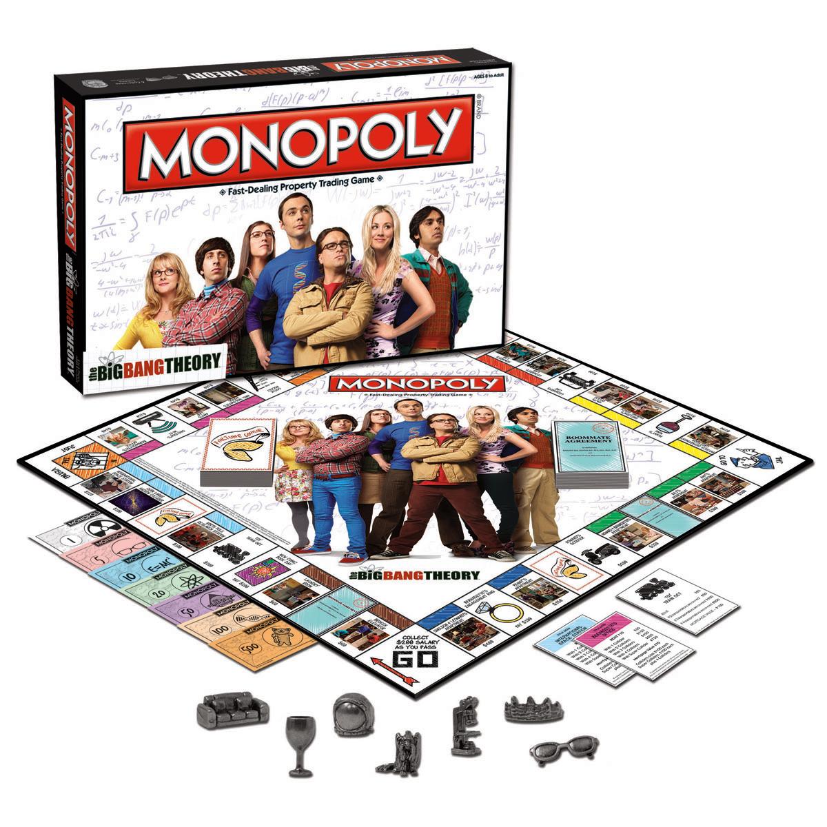 The Big Bang Theory Monopoly -  Board Games 2870-620570