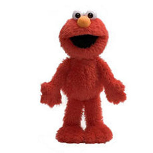Elmo 14 Inch Floppy Plush