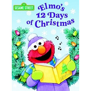 Elmo's 12 Days Of Christmas Book