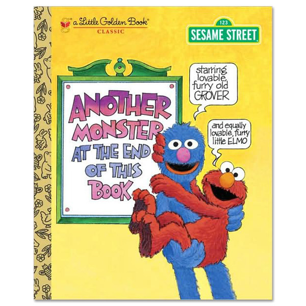 Another Monster At The End Of This Book - Golden Book