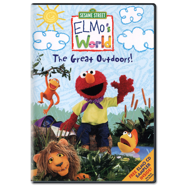 Elmo's World: The Great Outdoors DVD