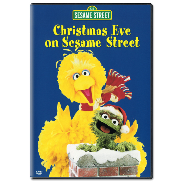 Christmas Eve On Sesame Street DVD