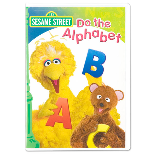 Sesame Street Do The Alphabet DVD