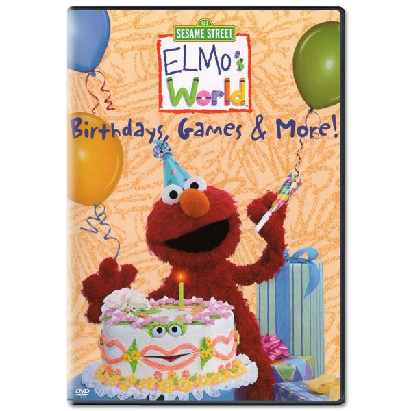 Elmo's World: Birthdays, Games & More DVD
