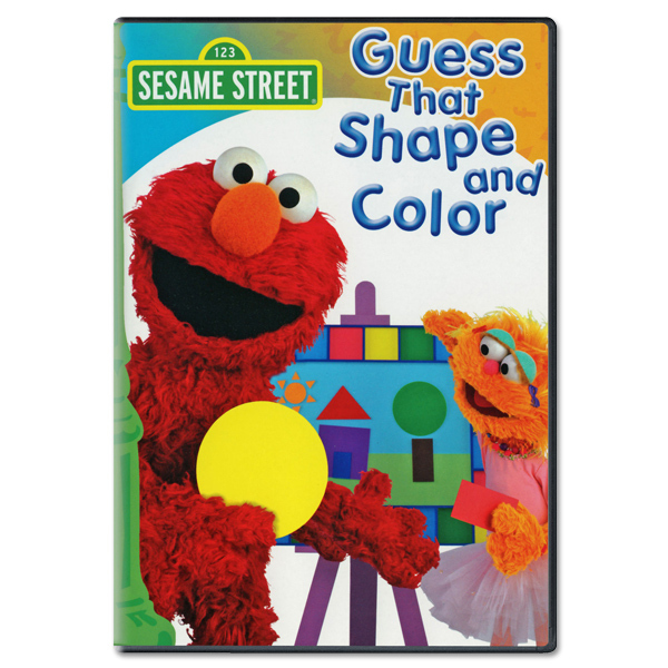 Guess That Shape And Color DVD