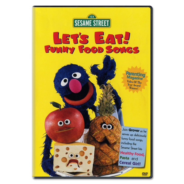 Let's Eat! Funny Food Songs DVD