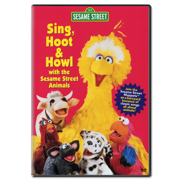 Sing, Hoot & Howl With The Sesame Street Animals DVD