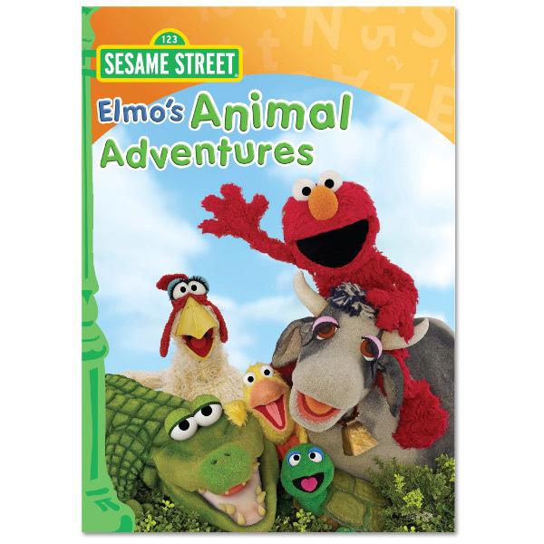 Elmo's Animal Adventures DVD