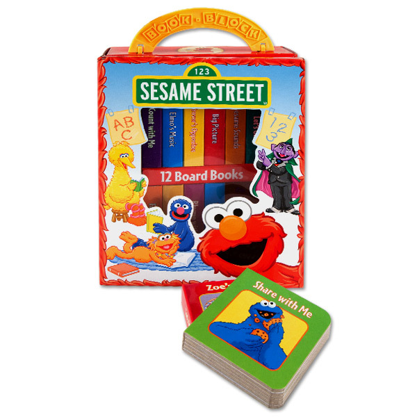 Sesame Street My First Library Book Set