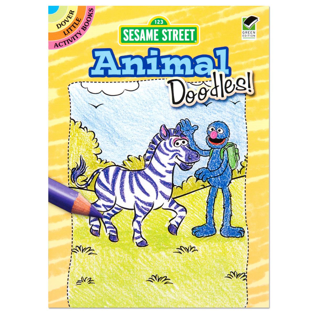 Animal Doodles Activity Book