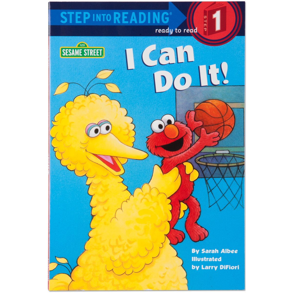 Sesame Street I Can Do It Book