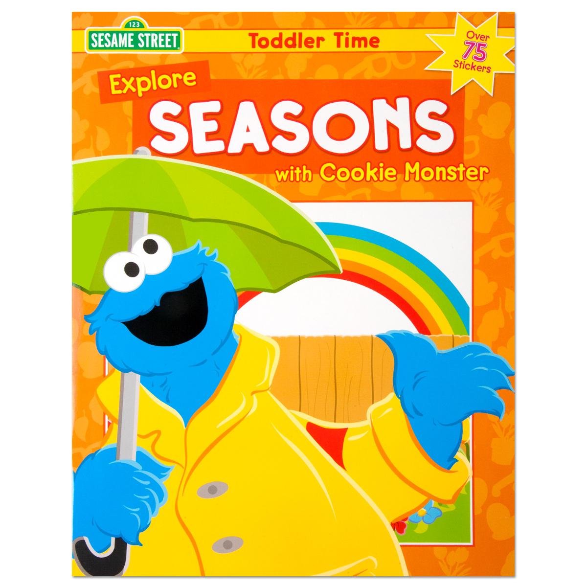 Explore Seasons With Cookie Monster Sticker Workbook