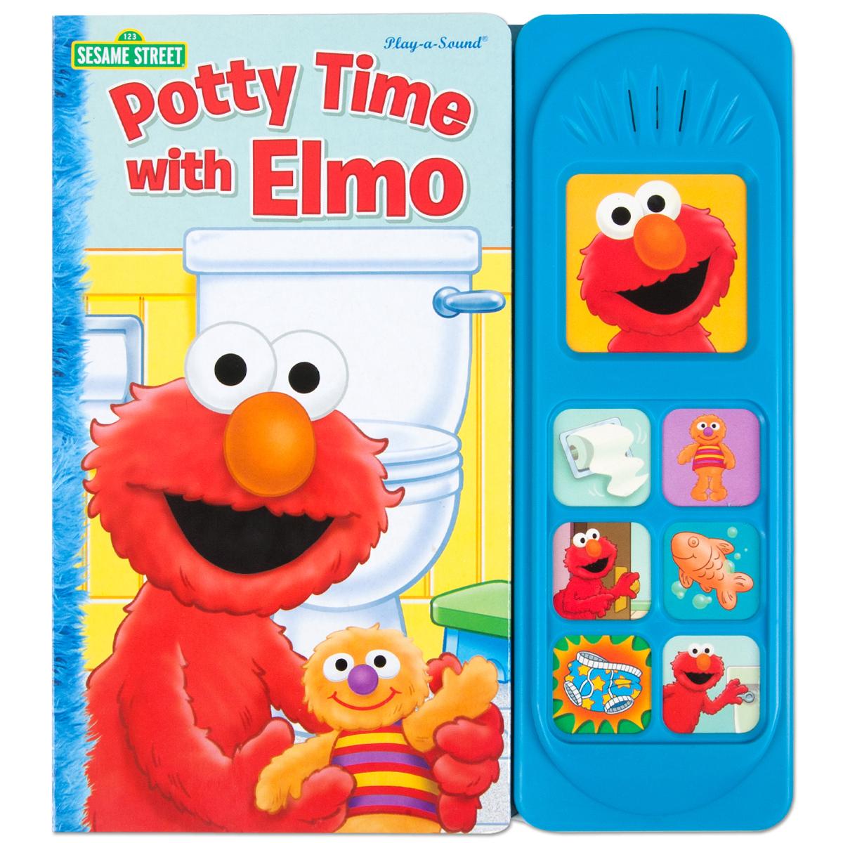 Potty Time with Elmo Sound Book