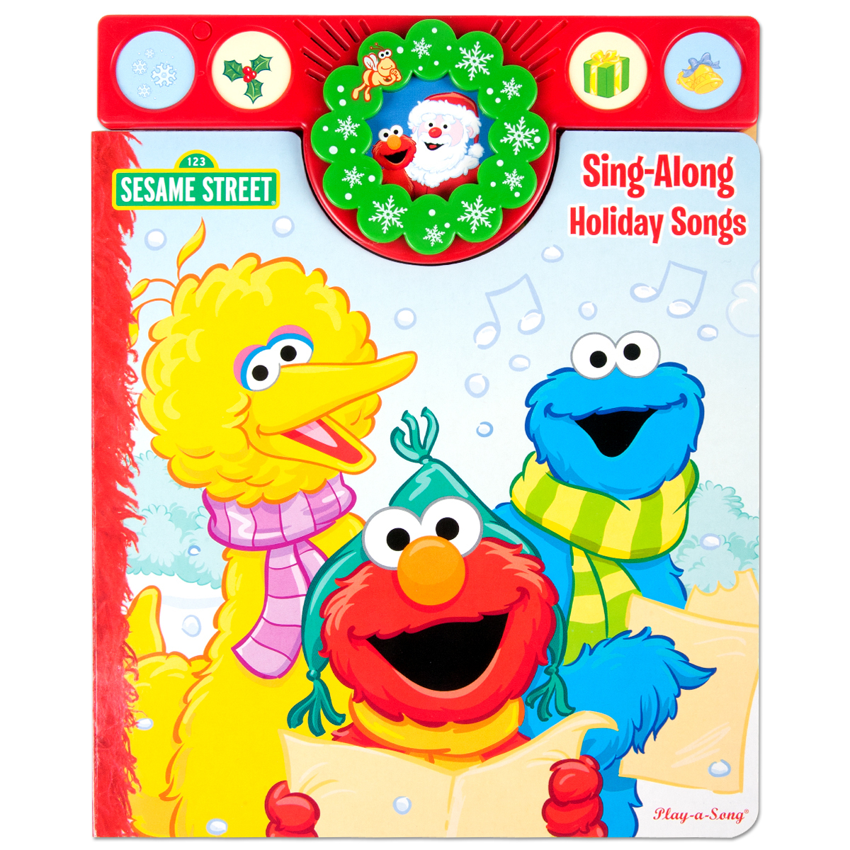 Sesame Street Sing-A-Long Holiday Songs Book