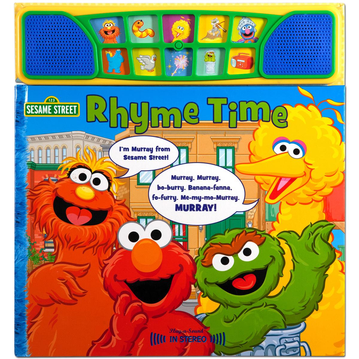 Sesame Street Rhyme Time Stereo Book