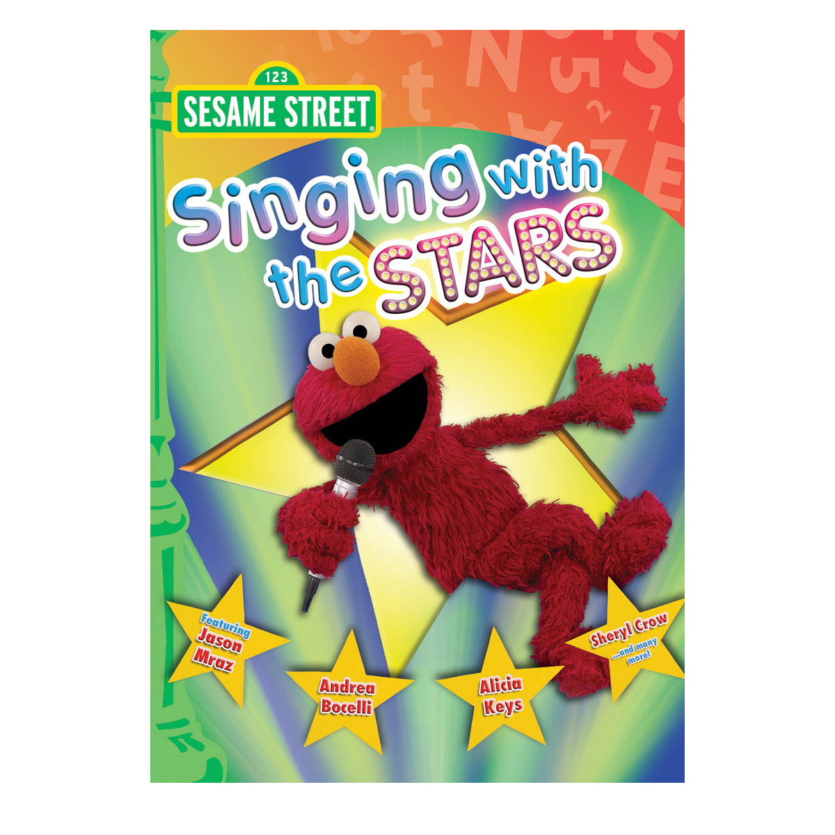 Sesame Street: Singing with the Stars DVD