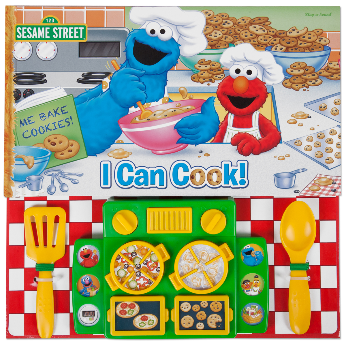 Sesame Street Cooktop Sound Book