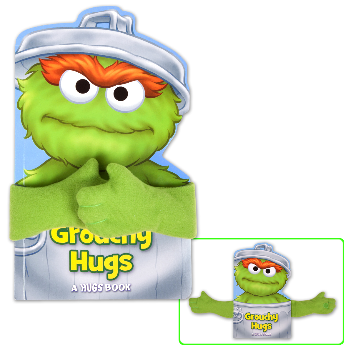 Sesame Street Grouchy Hugs! Book