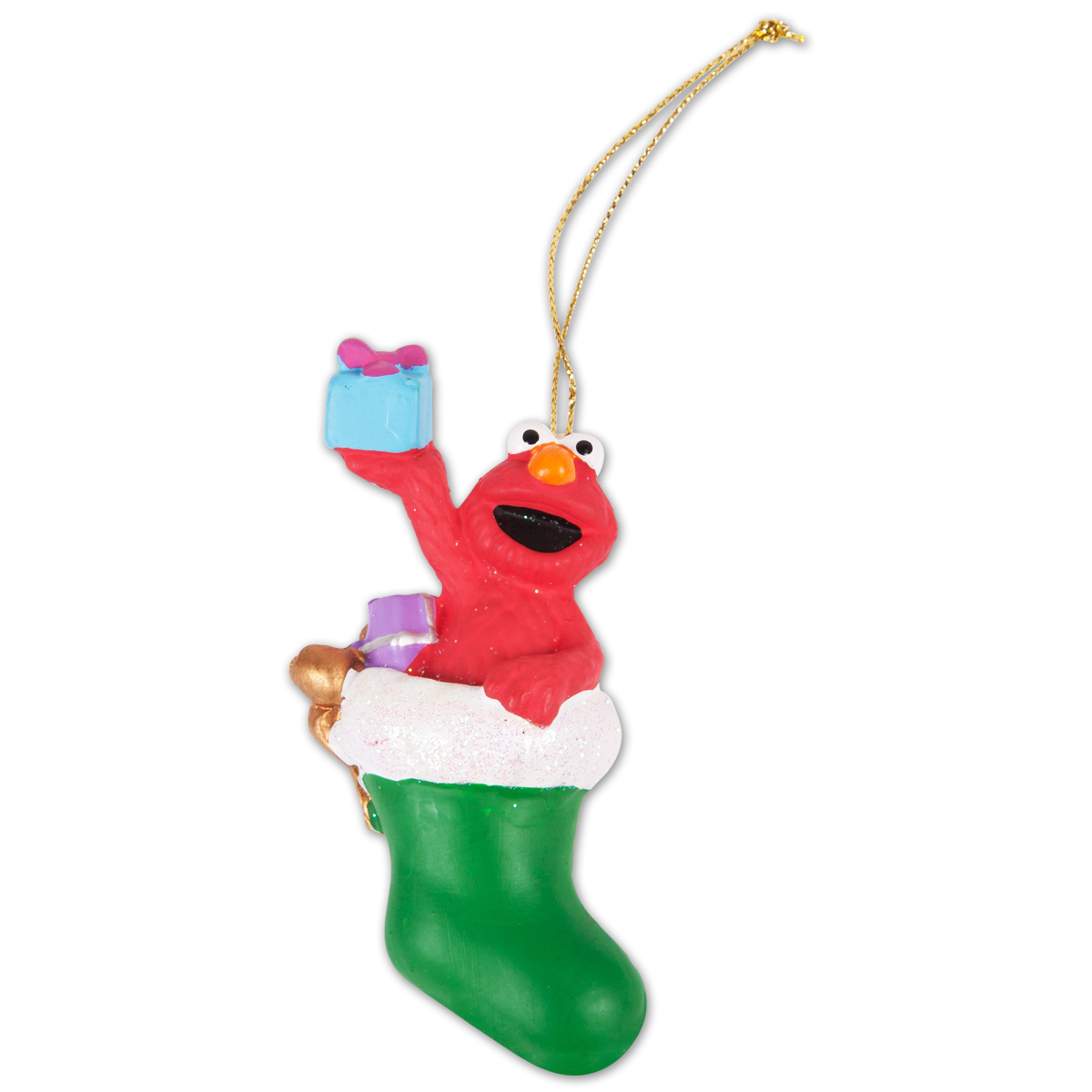 "Sesame Street 3.5"" Elmo Stocking Ornament"