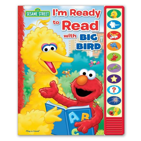 Sesame Street I'm Ready to Read with Big Bird Book