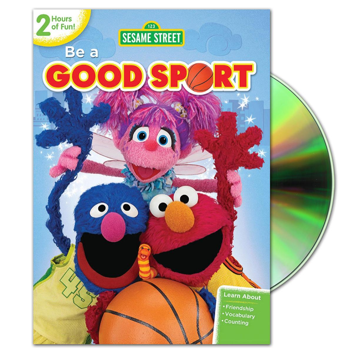 Sesame Street: Be a Good Sport DVD