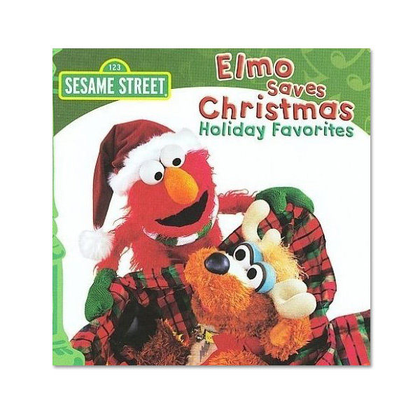 Elmo Saves Christmas CD