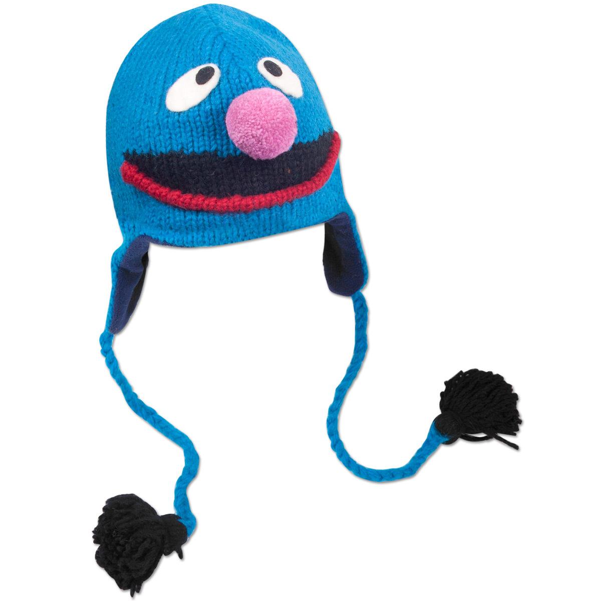 Grover Adult Pilot Hat