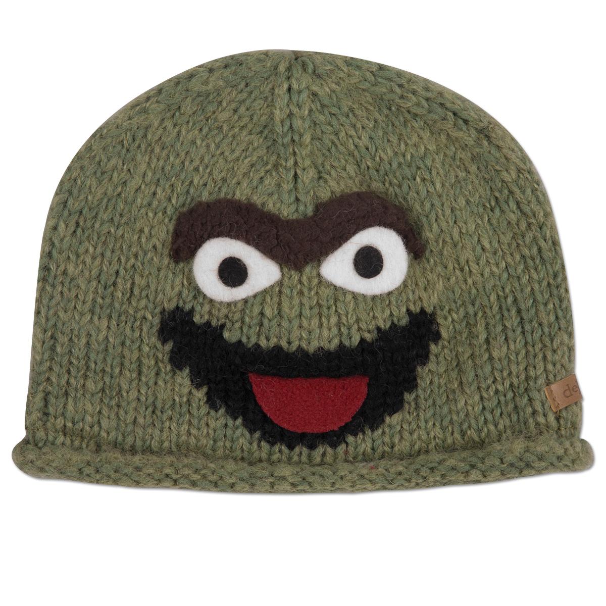 Oscar the Grouch Wool Toddler Beanie