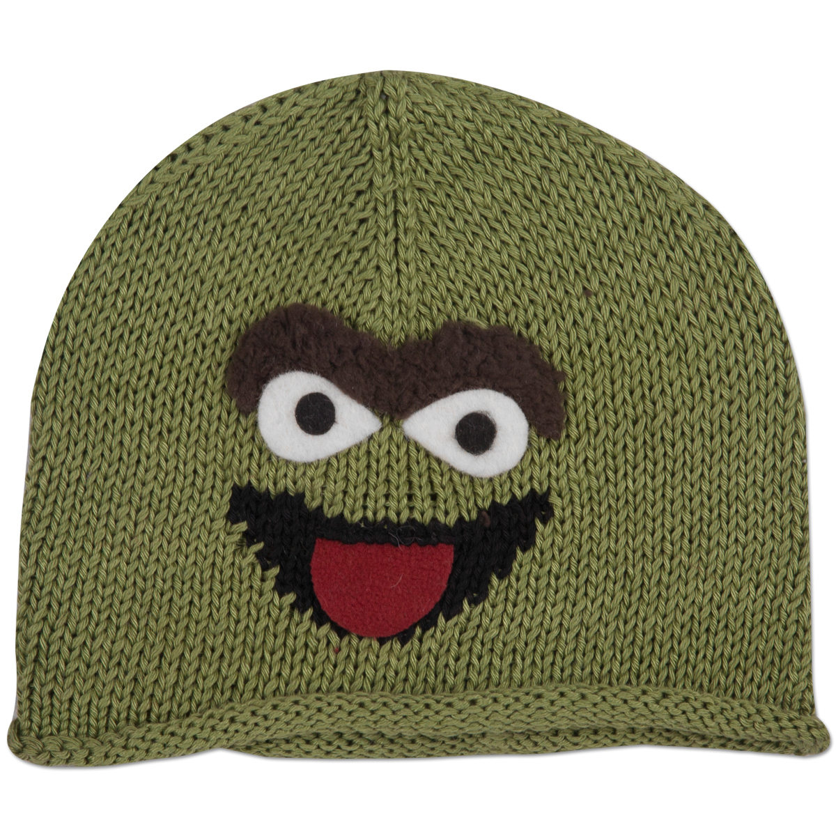 Oscar the Grouch Cotton Kids Beanie
