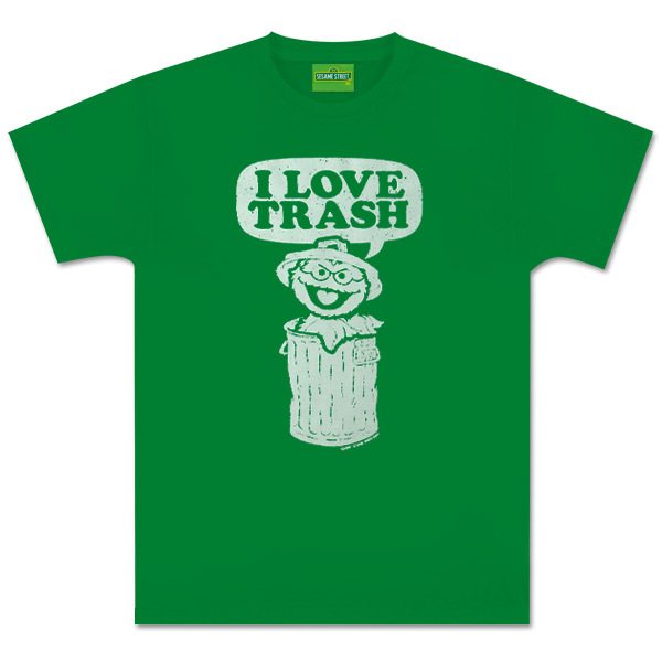 Oscar I Love Trash T-Shirt