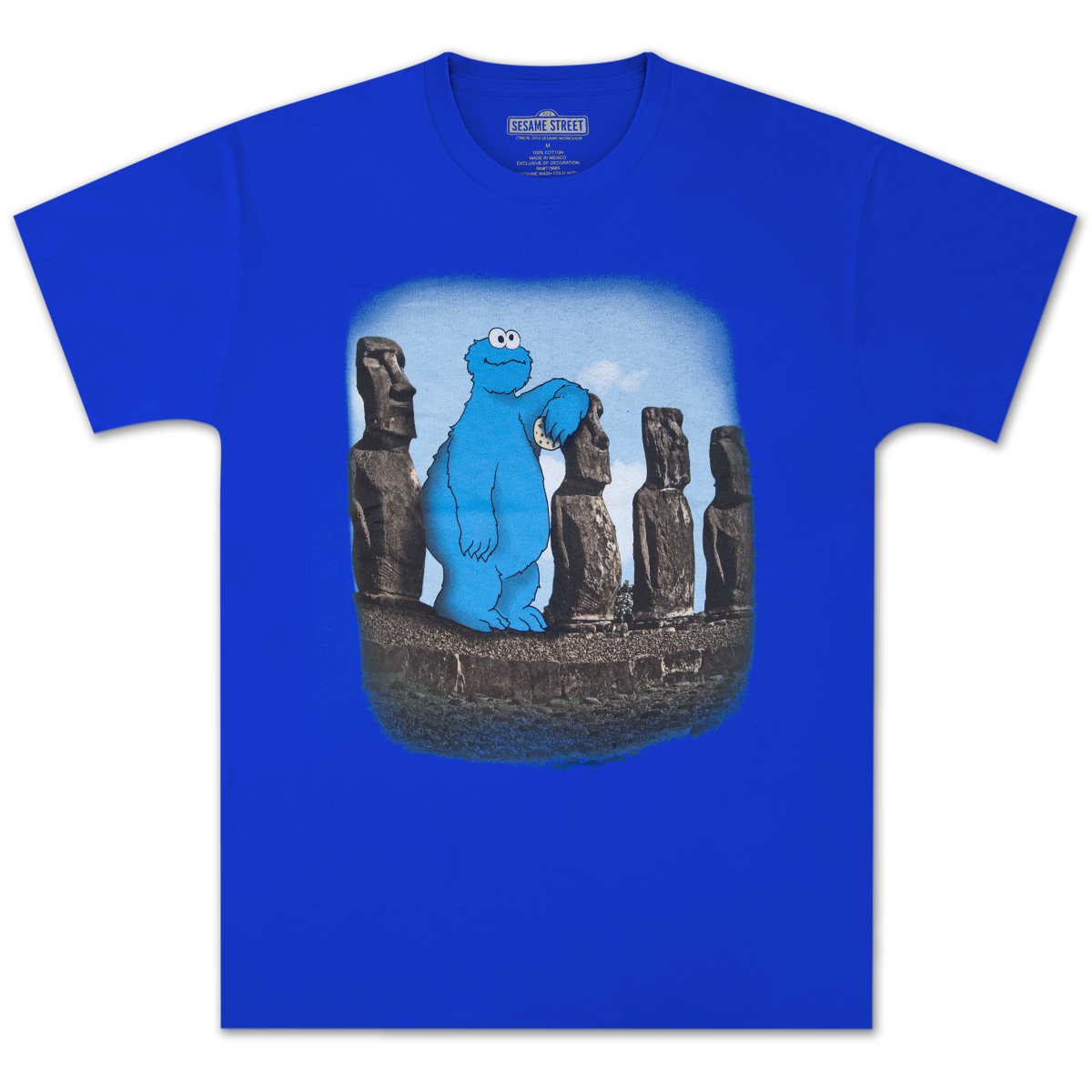 Cookie Monster Island T-shirt