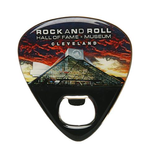 Guitar Pick Bottle Opener Magnet
