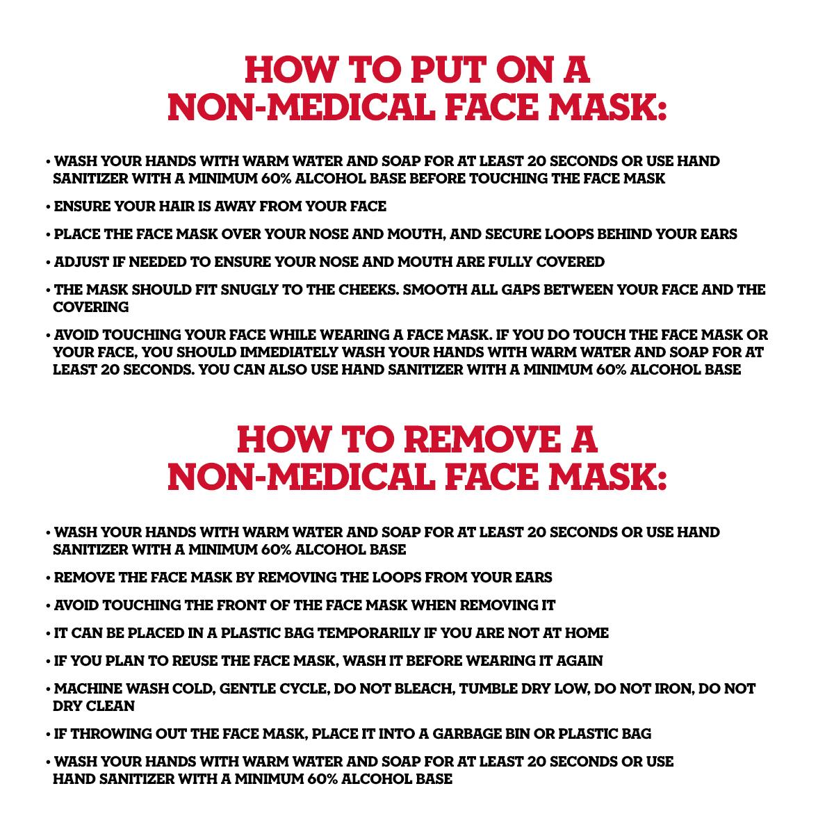Adult Skull Face Mask