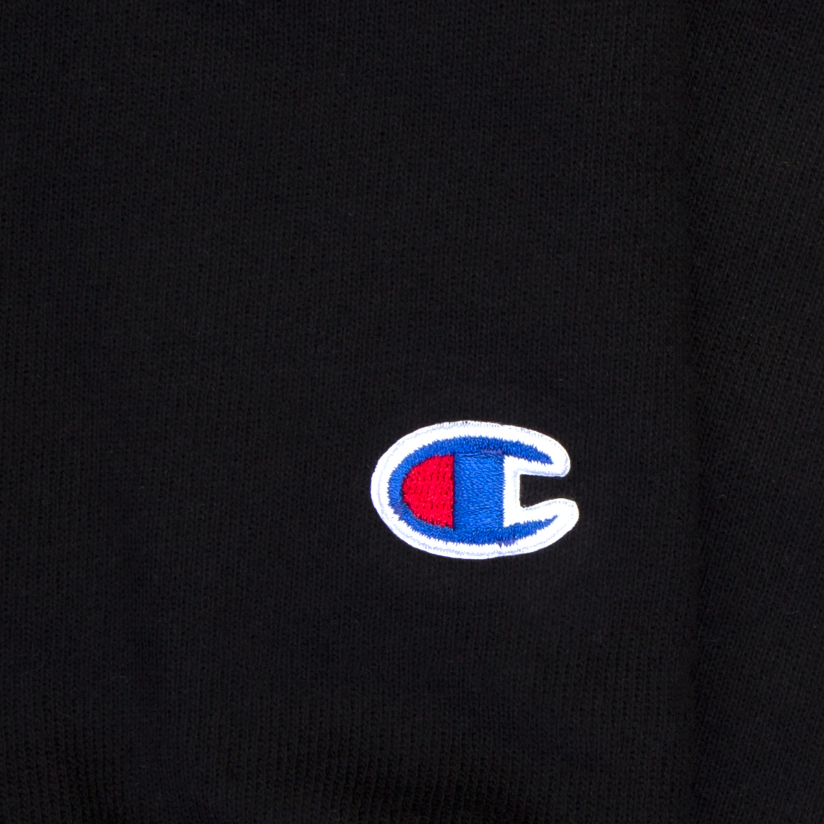 Champion Rock Hall Black Applique Hoodie