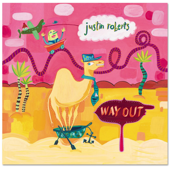 Way Out CD - Justin Roberts