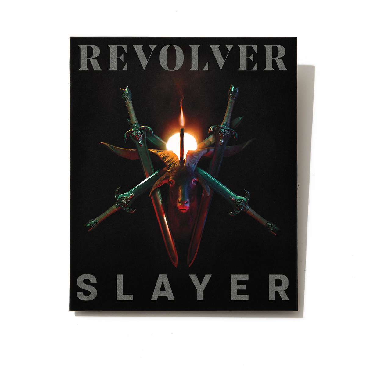 SILVER COLLECTOR'S EDITION OCT/NOV 2019 ISSUE — SLAYER — ONLY 250 MADE