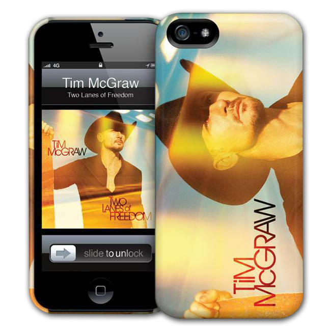 Tim McGraw iPhone 5 Hardcase