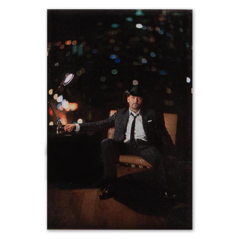 Tim McGraw Necktie Acrylic Magnet