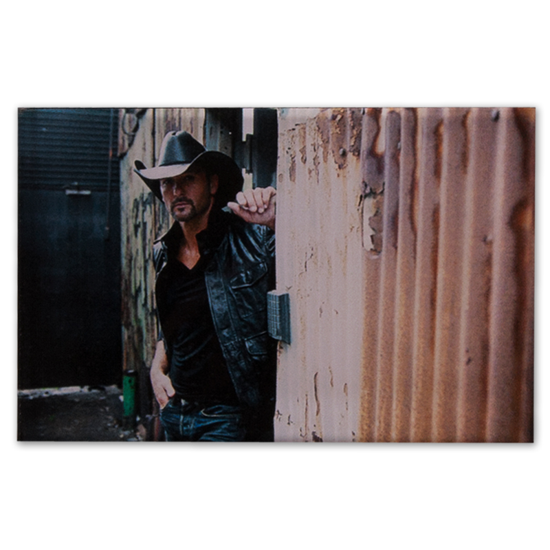 Tim McGraw Wall Lean Acrylic Magnet