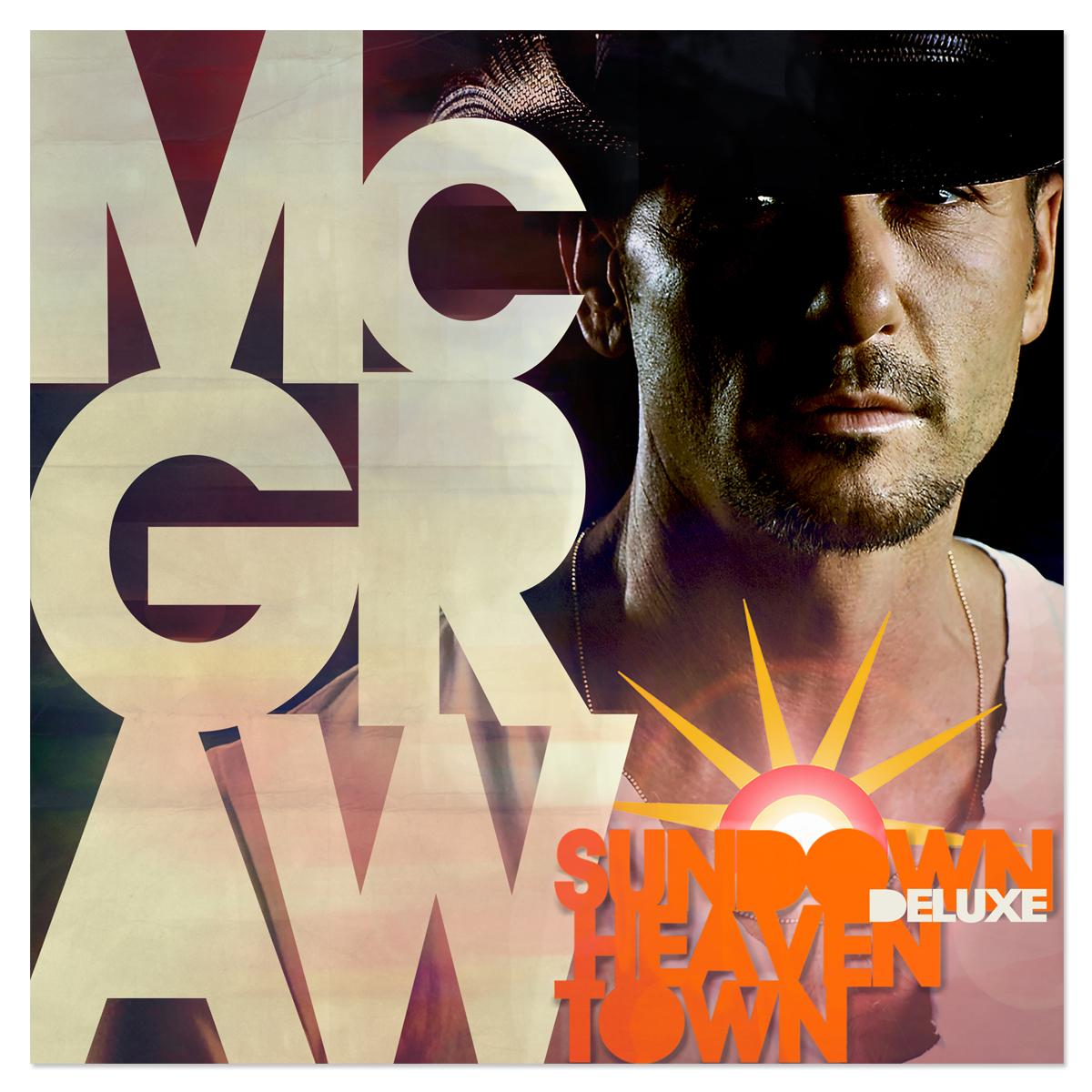 Tim McGraw Sundown Heaven Town Deluxe CD