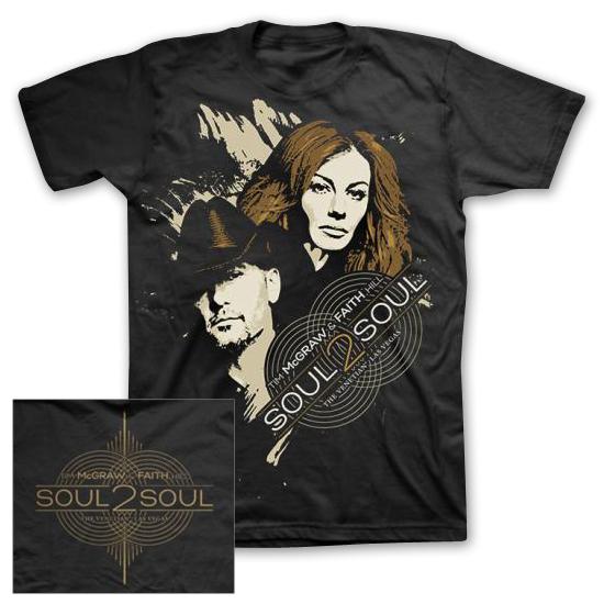 Tim McGraw/Faith Hill SOUL2SOUL Threshold T-shirt