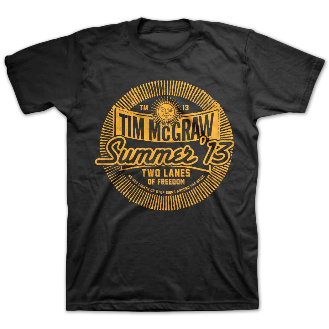 Tim McGraw Summer '13 T-shirt